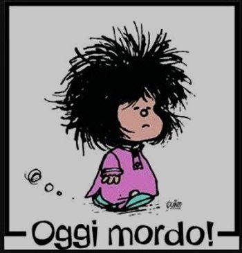 Vignetta mafalda oggi mordo