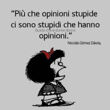 opinioni stupide