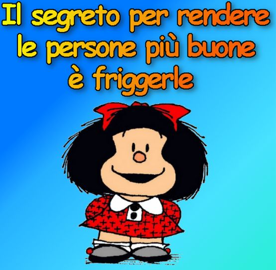 Vignette E Immagini Divertenti Su Mafalda