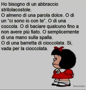 Vignetta vada per cioccolata