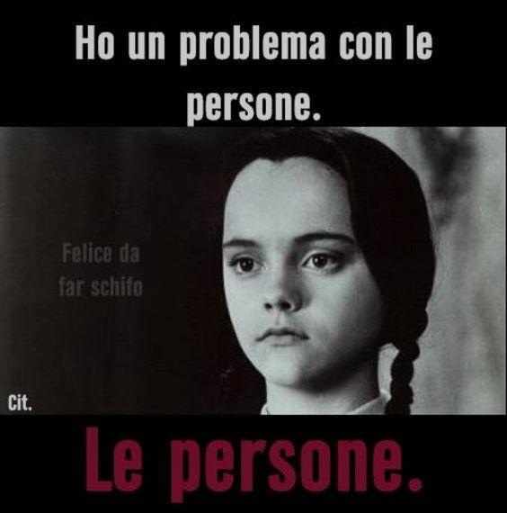 problema con le persone