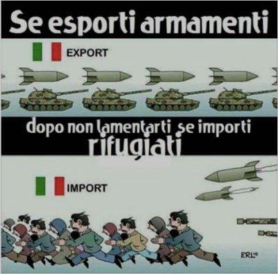 se esporti armamenti