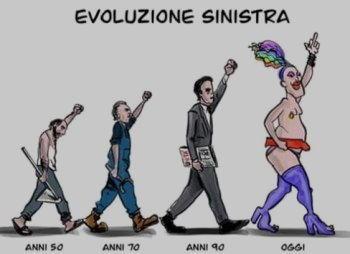 evoluzione sinistra