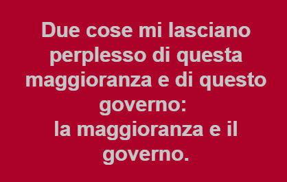 maggioranza e governo