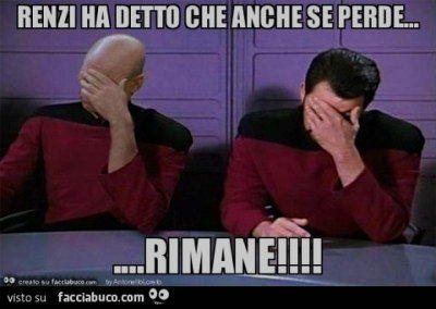 Renzi ha detto