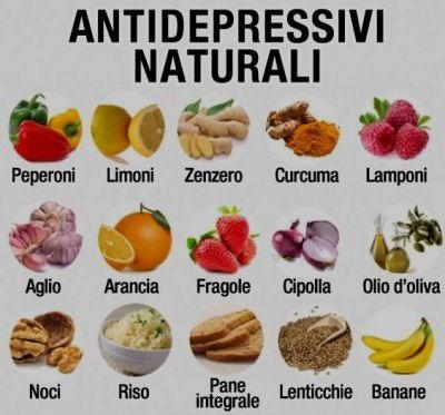 alimenti antidepressivi naturali