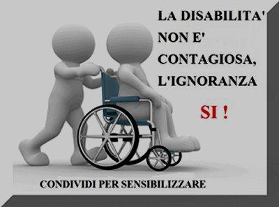Vignetta disabilita