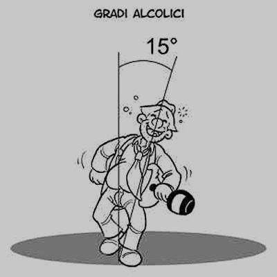 Vignetta Gradi alcoolici