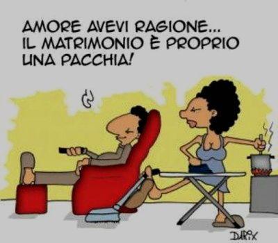 Anniversario Di Matrimonio Spiritosi.Vignette Divertenti Sugli Sposi Settemuse It