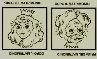 Prima e dopo matrimonio