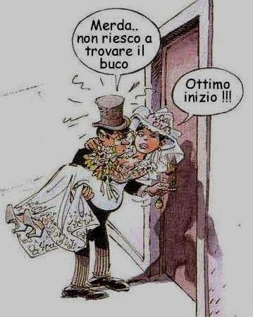 Frasi Matrimonio Spiritose Simpatiche.Vignette Divertenti Sugli Sposi Settemuse It