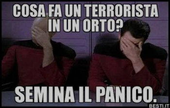 Semina il panico
