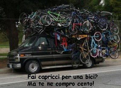 fai capricci per una bici