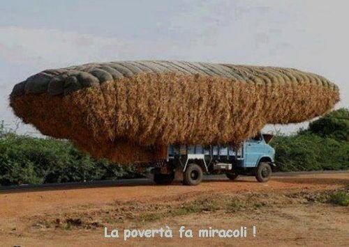 la povertà fa miracoli