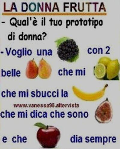 Vignetta donna frutta