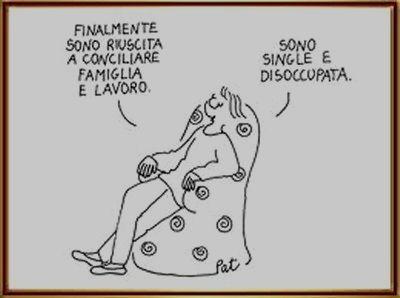 Vignetta single disoccupata