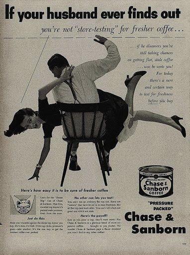 se tuo marito scopre che non compri caffe fresco
