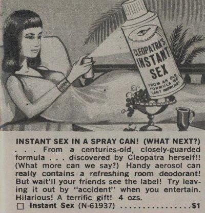 cleopatra instant sex