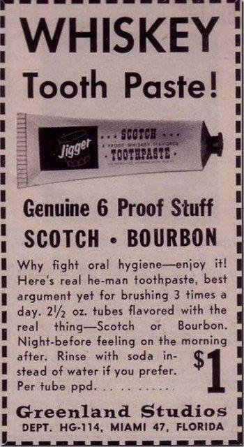 dentifricio al whiskey