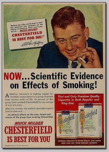 fumo prove scientifiche