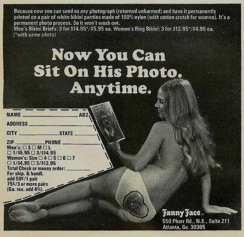 siediti sulla foto