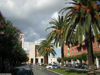 Sabaudia, una via centrale