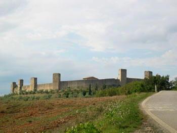 Itinerari Italia -  Siena - Monteriggioni