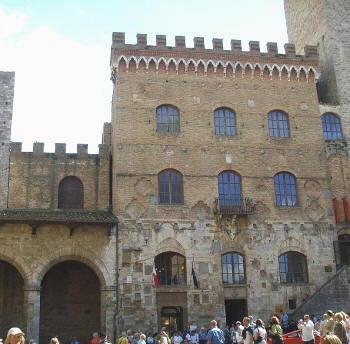 Itinerari Italia -  San Gimignano - Piazza Duomo