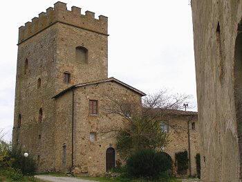 Itinerari Italia -  Poggibonsi - Castello di Strozzavolpe