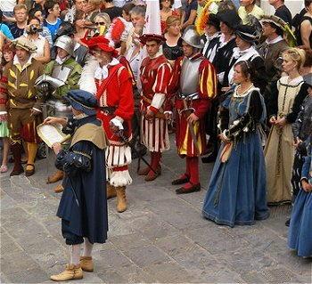 Folklore in Valdichiana