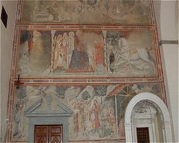Valdichiana - Affreschi a Lucignano