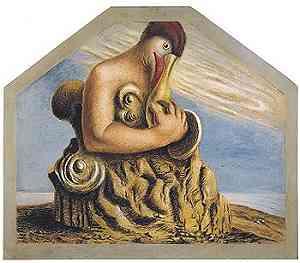 Un'opera di Alberto Savinio