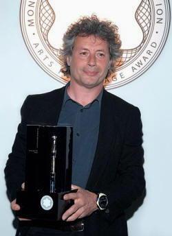 Alessandro Baricco alla premiazione