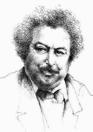 Ritratto di Alexander Dumas