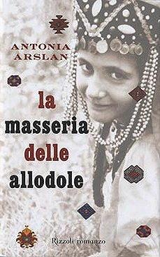 Copertina del libro La masseria delle allodole