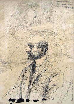 Ritratto di Gabriele D'Annunzio