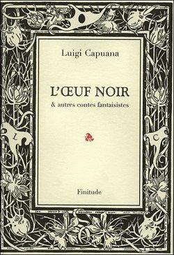 Copertina di un libro di Luigi Capuana