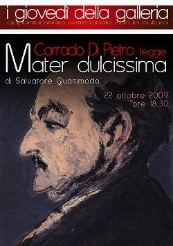 Biografia di Salvatore Quasimodo, Mater dulcissima
