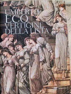 Biografia di Umberto Eco, Vertigine della lista