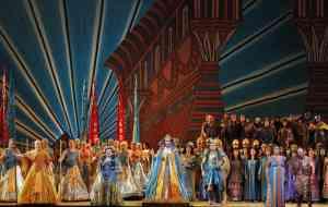 Scena dell'Aida di Verdi