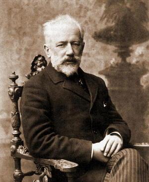 Piotr Ilic Cajkovskij foto del compositore