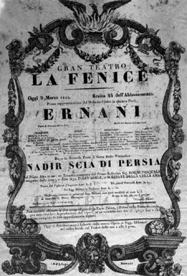Ernani La Fenice 1844