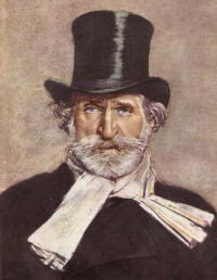 Giuseppe Verdi ritratto