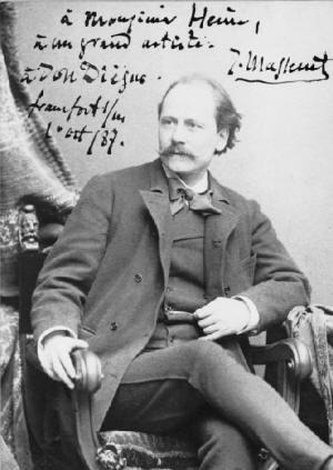 Biografia foto e composizioni di Jules Massenet