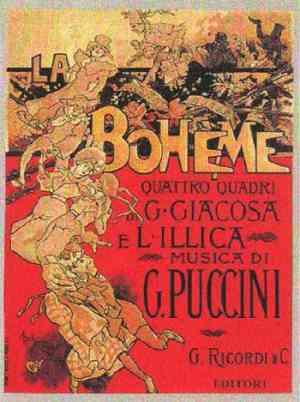 La Bohème di Giacomo Puccini