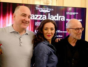 Opera La Gazza Ladra regia di Salvatores