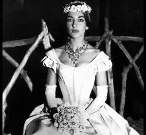 Opera La Sonnambula di Bellini - Maria Callas