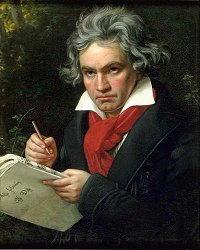 Ludwig van Beethoven ritratto