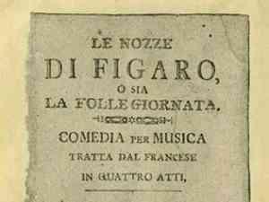 Opera Lirica Le Nozze di Figaro di Mozart