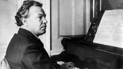 Ottorino Respighi al pianoforte
